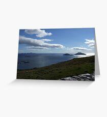 Sky meets Ocean - Kerry, Ireland Greeting Card