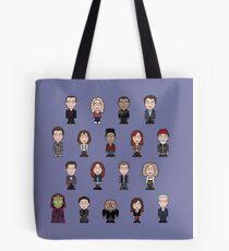 New Who Doctors and Companions (pillow/bag) Tote Bag