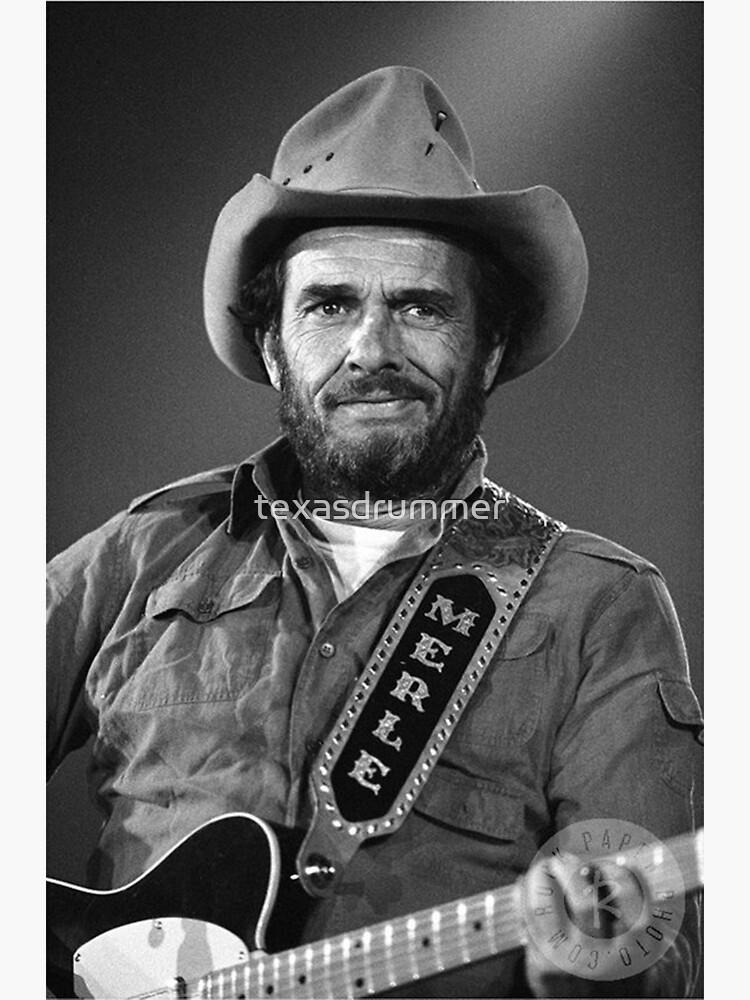 Merle Haggard by texasdrummer