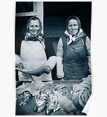 Galician Market, Lviv,Ukraine Poster