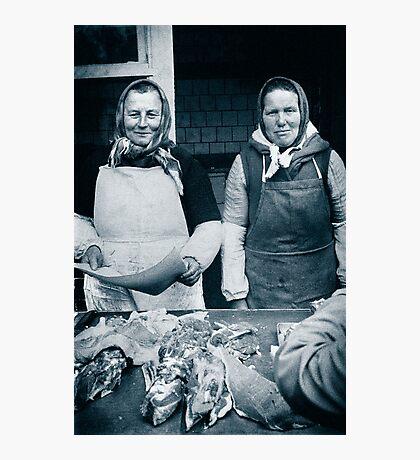 Galician Market, Lviv,Ukraine Photographic Print