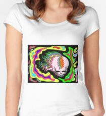 melt your face Women's Fitted Scoop T-Shirt