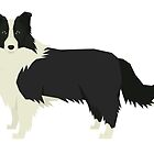 Border Collie by Happy Dog Swag
