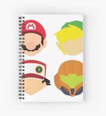 Nintendo-Größen Spiralblock