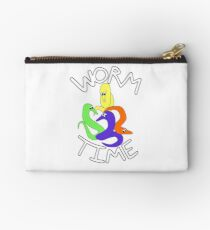 Worm Time - Worm on String Studio Pouch
