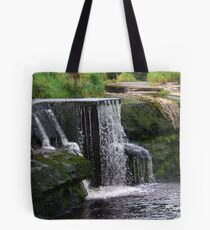 The Cascades Waterfalls in Autumn - Ennistymon, Clare, Ireland Tote Bag