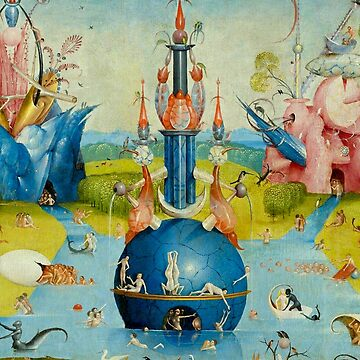 Hieronymus Bosch: The Garden of Earthly Delights (centre top) by planetterra