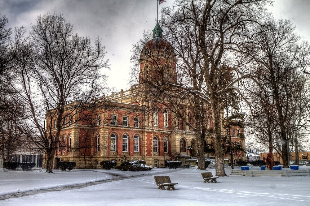 Elkhart County Courthouse by Terence Russell