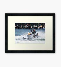 Jet Ski Fun- Boy's Toys Framed Print