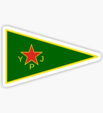 Flag of the Women's Protection Units  Sticker