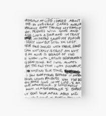 xxxtentacion Hardcover Journal