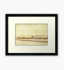 Trains of Hutto Framed Print