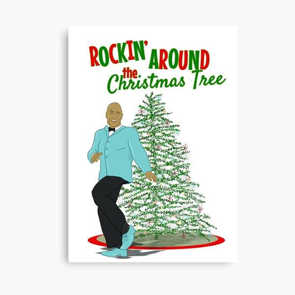 Rockin' Around the Christmas Tree Canvas Print