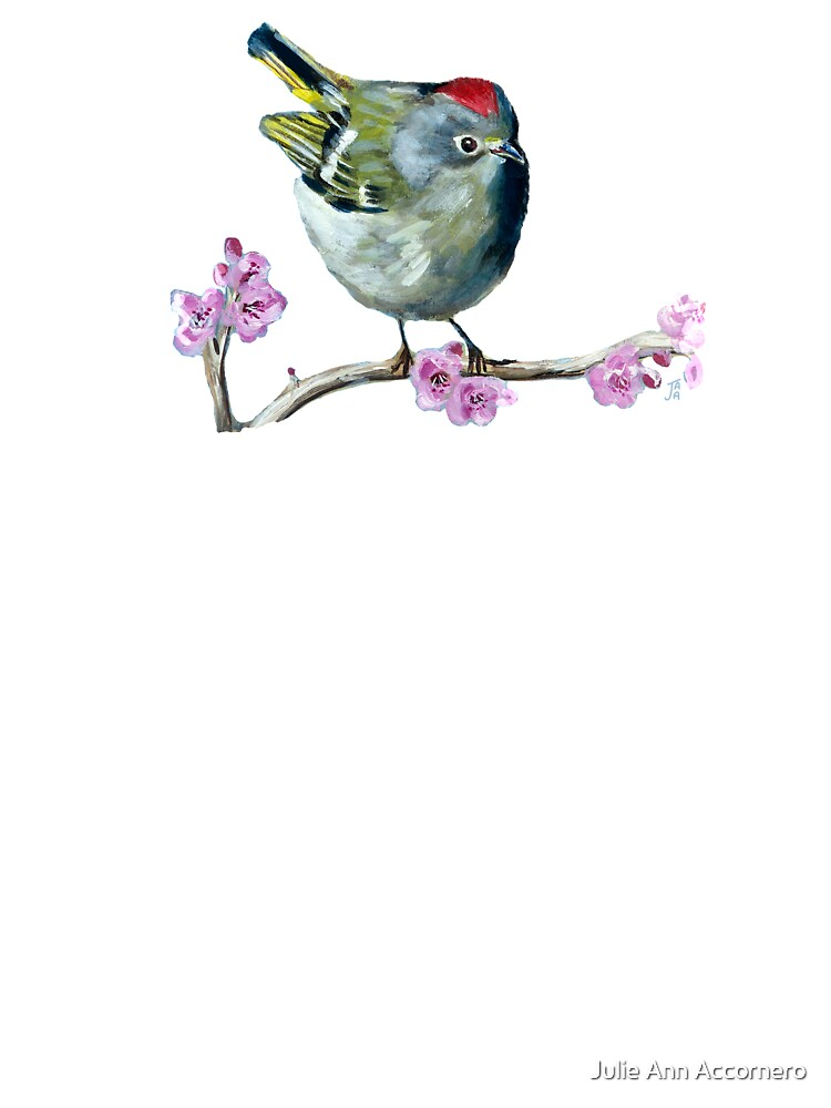 Ruby Crowned Kinglet Cut Out Baby One Piece By Julieannacc Redbubble