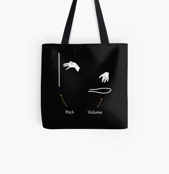 The Theremin explained All Over Print Tote Bag