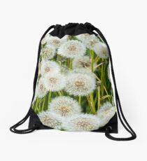 Taraxacum, Dandelion Drawstring Bag
