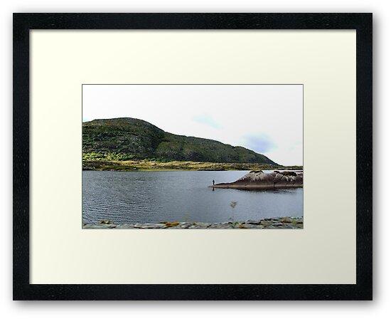 Fishing on the Lakes of Killarney - Kerry, Ireland by CFoley