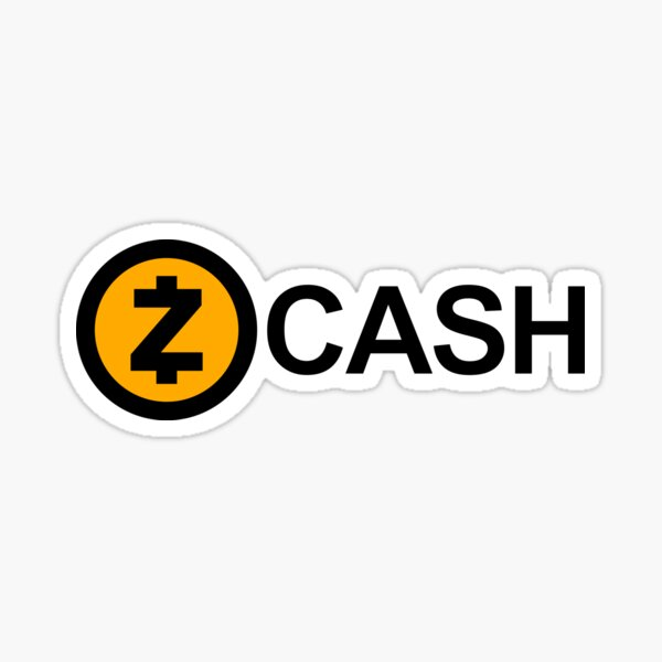 ZCash Logo Sticker