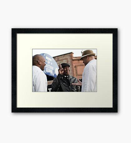 Music generations Framed Print
