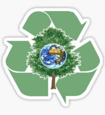 recycle earthday Sticker