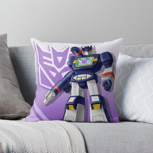 SoundWave Transformers G1 Throw Pillow
