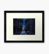 Abducted Framed Print