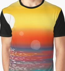 colorful sunset Graphic T-Shirt