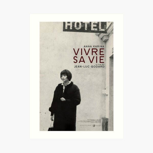 Vivre sa vie Movie Poster Art Print