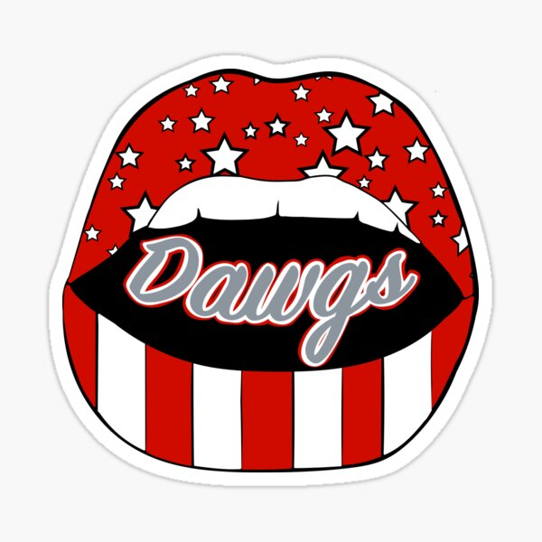 Dawg Lips Sticker