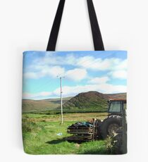 Rusted Tractor - Kerry, Ireland Tote Bag