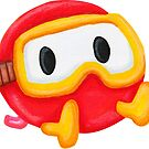 Pooka From Dig Dug by MinosArt