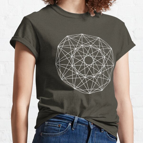 24-Cell Projection (dark background) Classic T-Shirt