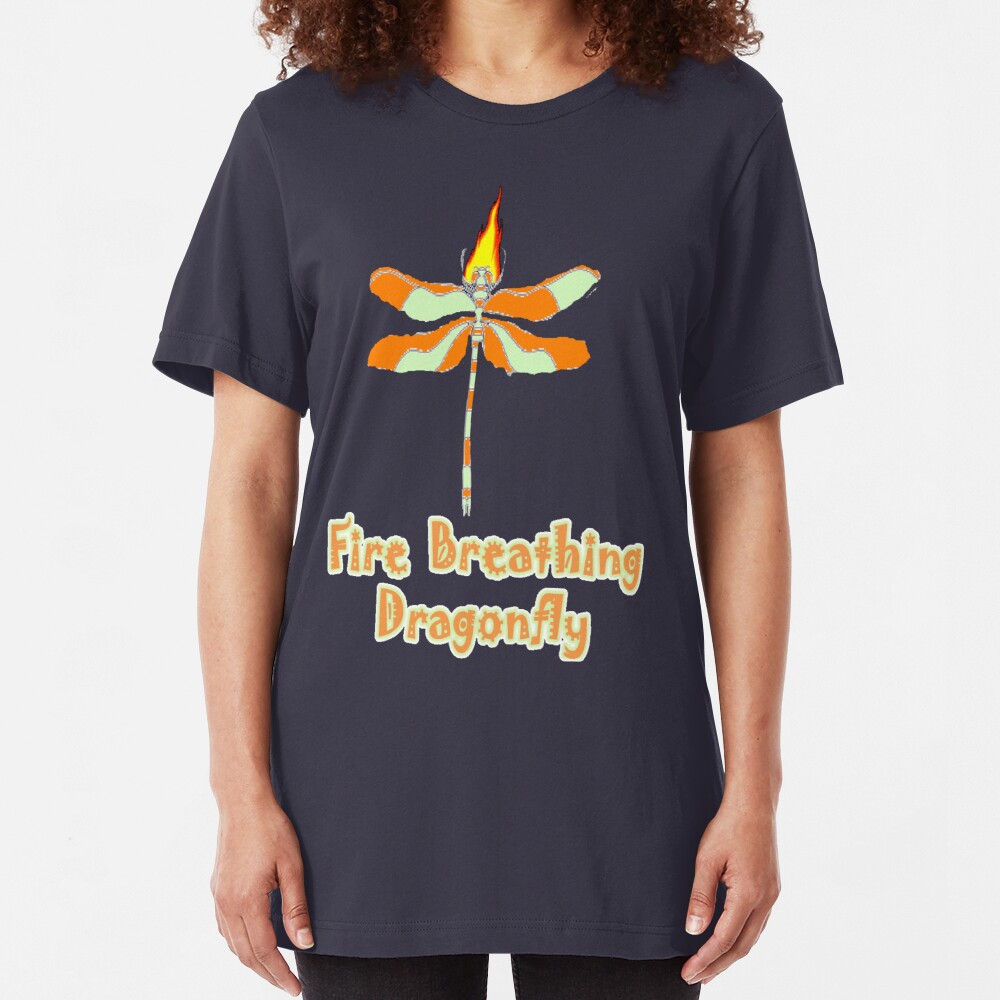 Dragon Fly Slim Fit T-Shirt