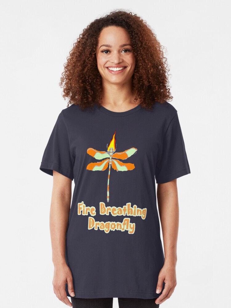 Alternate view of Dragon Fly Slim Fit T-Shirt