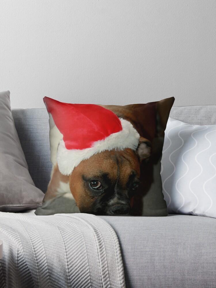 Dino ~ Santas kleiner Helfer ~ Boxer Dog Series von Evita