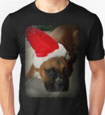 Dino ~ Santas kleiner Helfer ~ Boxer Dog Series Slim Fit T-Shirt