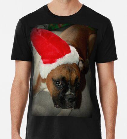 Dino ~ Santas kleiner Helfer ~ Boxer Dog Series Premium T-Shirt