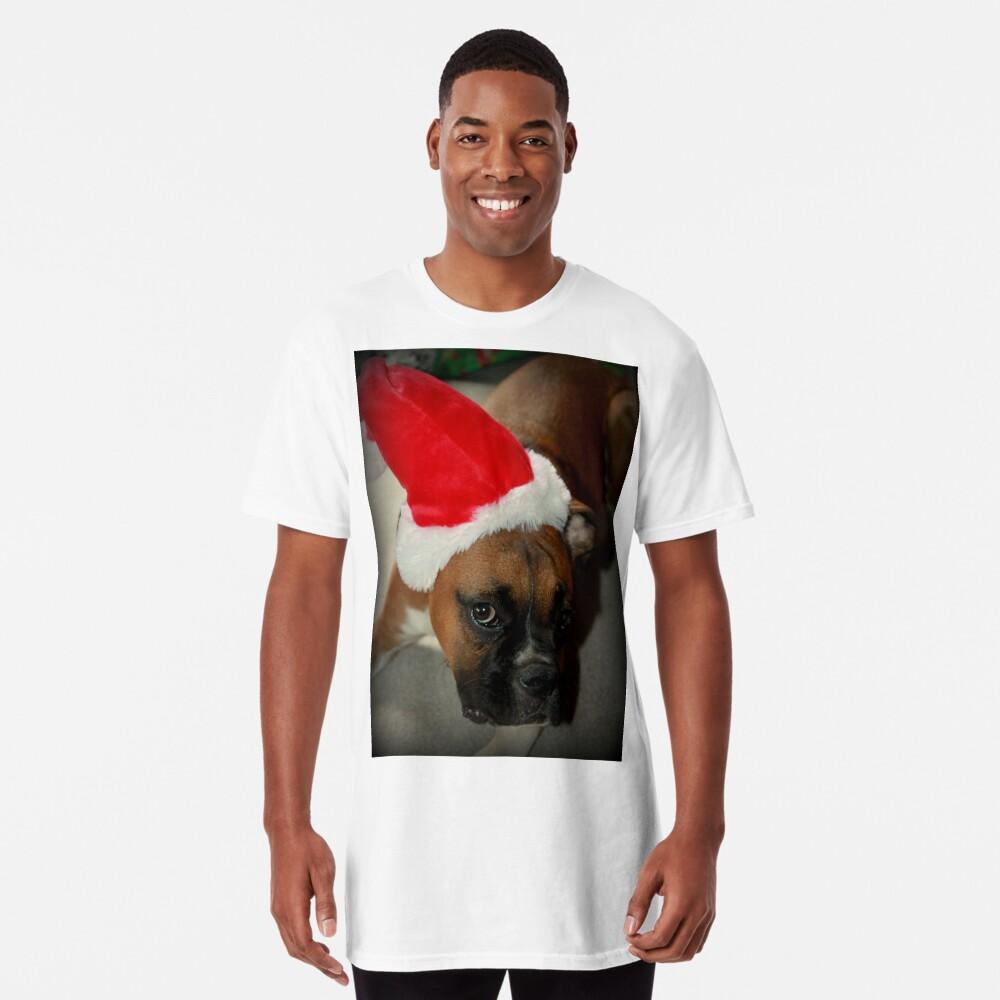 Dino ~ Santas kleiner Helfer ~ Boxer Dog Series Longshirt
