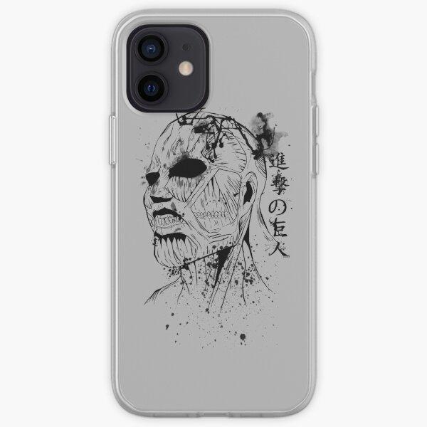 Titán colosal: Shingeki no kyojin Funda blanda para iPhone