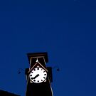 Clock with Moon by Jay White