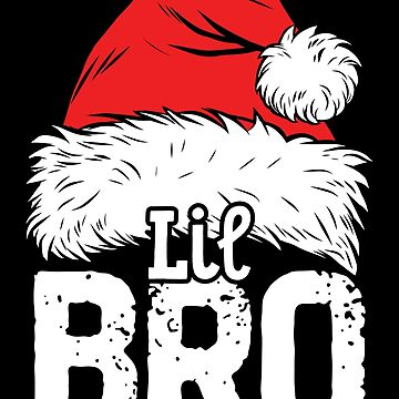 Little Brother Christmas Santa T Shirt Family Matching Tees by LiqueGifts