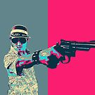 Fear and Loathing in Las Vegas Revisited - Raoul Duke  by Serge Averbukh