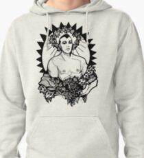 Dionysus - Design 3 (Black) Pullover Hoodie
