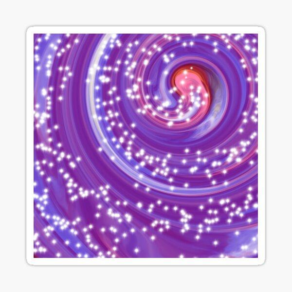 Vortex Colorful Tie Dye Sticker