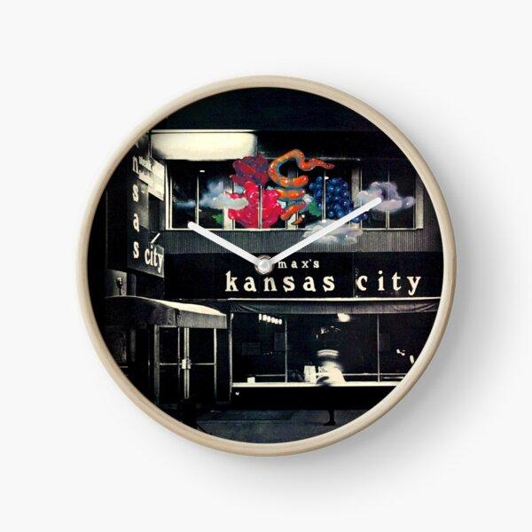 The Velvet Underground Live at Max's Kansas City Shirt Clock