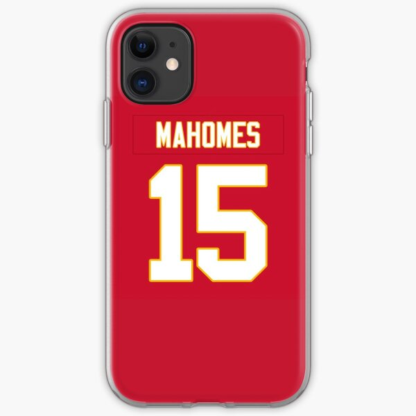 Patrick Mahomes Chiefs iPhone Soft Case
