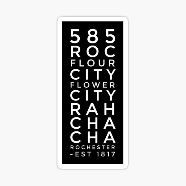 ROC Nicknames Sticker