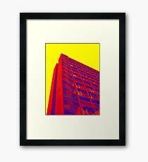 Parkhill popart (part 1 of 6) Framed Print