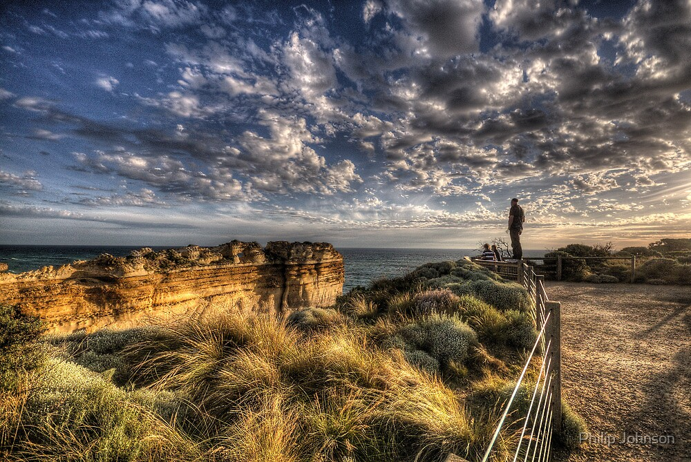 Crazy - Great Ocean Road - The HDR Experience by Philip Johnson