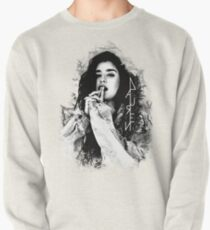 Lauren Jauregui black and white logo Pullover